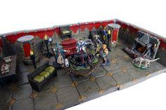 La table du Stratège 2, Table dwarven forge, rpg terrain, diorama 28mm, figurines, miniatures