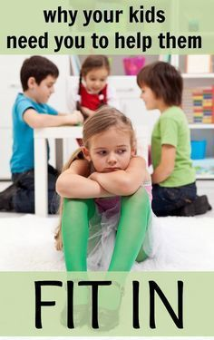 Why your kids need you to help them fit in! Everyone wants to belong somewhere, and kids want to belong with their family and peers. Good read for moms of school aged kids.