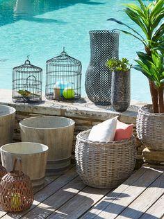 Décoration extérieure - Alinéa - Jeu concours Pinterest - A gagner : 500€ en bons d'achat ! Jouez sur : https://www.pinterest.com/alinea/jeu-en-exterieur/