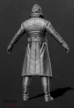 Assassin's Creed Syndicate - Jacob Outfit 03 Zbrush by Mathieu Goulet on ArtStation. Assassins Creed Cosplay, Assassins Creed Unity, Maxwell Roth, Digital Sculpting, 3d Artwork, Le Far West, Character Modeling, Zbrush, A Team