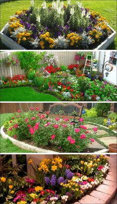 flower garden design ideas 16