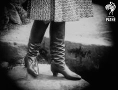 Russian boots in Pathe newsreel, 1930 Ballet Shoes, Dance Shoes, Something Old, Fashion, Boots, Black N White, Ballet Flat, Dancing Shoes, Moda