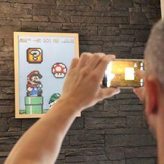 Tableau Mario en perles à repasser | Les Aventures du Chouchou Cendré Mario, Convenience Store, Board, Bricolage, Convinience Store
