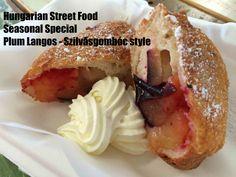 Hungarian Street Food - Plum Langos