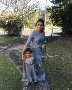 Mom Daughter Matching Dresses, Mom And Baby Dresses, Newborn Baby Photography, Prom Dresses, Formal Dresses, Little Princess, Saree Blouse, Blouse Designs, Designer Dresses