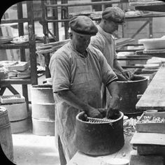 'Loading the saggers' at Etruria, The Wedgwood Museum Collection