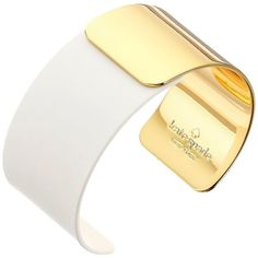 Kate Spade New York Dive In Cuff Bracelet, White ($80) ❤ liked on Polyvore featuring jewelry, bracelets, white, white bangle, kate spade, hinged cuff bracelet, cuff bracelet e engraved jewelry