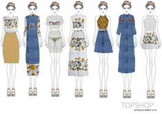 TOPSHOP COMPETITION 15 PIECE CAPSULE COLLECTION SPRING/SUMMER 2016
