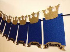 Banner de foto de príncipe cumpleaños real por Fancymycupcake