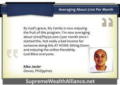 SWA Ultimate Testimonial - Kiko Javier