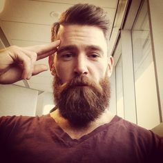 """thelastofthewine: """"milkmanaustralia: """"Moustache wax is a popular product for moustaches. Get the shape and size through it. Beards And Mustaches, I Love Beards, Moustaches, Great Beards, Awesome Beards, Hairy Men, Bearded Men, Bart Tattoo, Sexy Bart"""