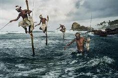 Fishers in Sri Lanka, Steve McCurry