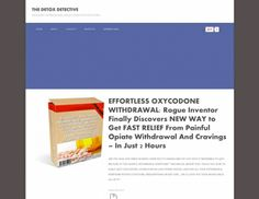 Effortless Oxycodone Withdrawal: Huge Profit Potential, Patent Pending  If You Are A Personal Trainer And Want To Make Money And Develop A Business, Then You Need To Read This E-book. Learn How To Create Marketing Systems To Generate Steady Clients. Understand Your Numbers So Your Business Operates In A Positive Cashflow.