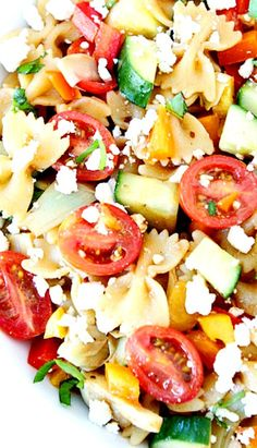 Summer Pasta Salad  #StudentRecipe #StudentFood  For more student stuff, follow iQ Student Accommodation