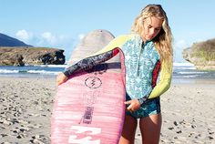 Catch the wave: How to get surfer-girl hair like Billabong model and surfer Felicity Palmateer