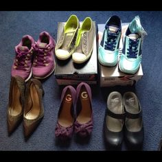 Shoes for sale Mostly all size 6 Madden Girl Shoes Heels