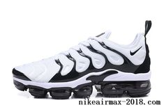8ff219c20c65 Nike Air Vapormax Plus Mens Running Shoes White Black Nike Air Max Plus