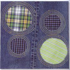 Als Blickfänger in Jeansprojekten oder zum lustigen Ausbessern von Löchern in den Hosen
