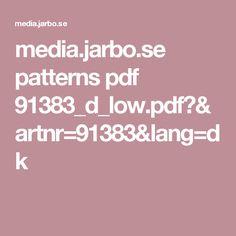 media.jarbo.se patterns pdf 91383_d_low.pdf?&artnr=91383&lang=dk