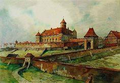 Zamek Krzyżacki - przełom XIII i XIV wieku.