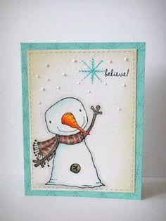 Donna Mikasa - Berry Snow Believe Card