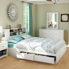 Have to have it. Vito Storage Queen Platform Bed $89.99