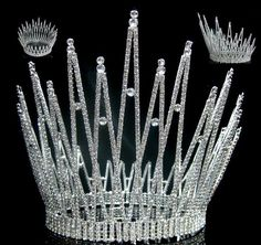 Miss Beauty Queen Pageant Crown Tiara