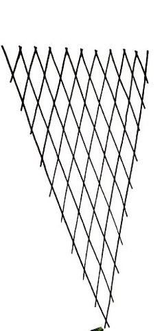 Master Garden Products Willow Expandable Fan Trellis 12 by 60Inch ** For more information, visit image link.