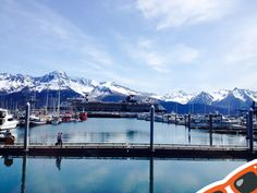Town of Seward in AK