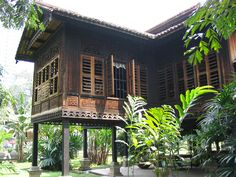 Malay architecture was basically . Timber House, Wooden House, Roof Design, House Design, Filipino Architecture, Filipino House, Vernacular Architecture, House Architecture, Thai House