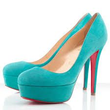 #turquoise #shoe #fashion #beauty