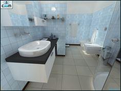 3D Graphic Design  Bathroom