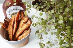 Opskrift på søde kartoffel fritter – Kaffe og kjoler