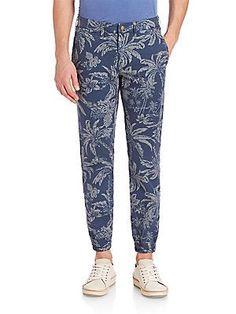 Polo Ralph Lauren Tropical Print Slim-Fit Pants