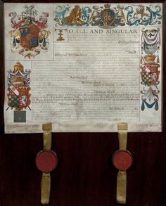 Grant of arms to William Hurst of Hinckley (1763)