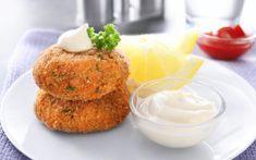 Μπιφτέκια Σολομού Chicken Cutlet Recipes, Cutlets Recipes, Chicken Cutlets, Chicken Patties, Salmon Patties, Russian Chicken, Aloo Tikki Recipe, Sprout Recipes, Fun Recipes