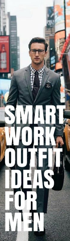 SMART WORK OUTFIT IDEAS FOR MEN #mensfashion #fallfashion #streetstyle