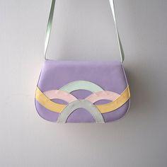 1980s Pastel Color Purse