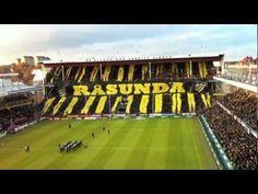 Stoccolma, coreografia, inno e torciata ultras AIK vs Malmo