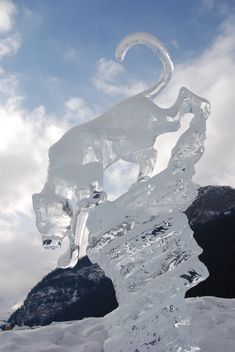 PUMA ICE SCULPTURE