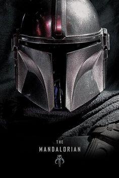 Star Wars: The Mandalorian Dark Maxi Poster - Geek World Star Wars Logos, Star Wars Tattoo, Star Wars Poster, Poster Poster, Star Wars Fan Art, Star Trek, Star Wars Original, Star Wars Dark Side, Tableau Star Wars