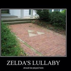 I'll put this a little bit closer to the front steps and my doorbell will be Zelda's Lullaby