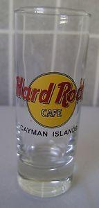Hard Rock Cafe Cayman Islands shooter shot glass tall shot glass souvenir