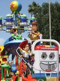 Pixar Pals Parade at Disney's Hollywood Studios.  This parade has been permanently retired