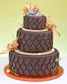 Wedding cake, but boggers or mud grapplers!