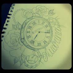 pocket watch tattoo - Cerca con Google