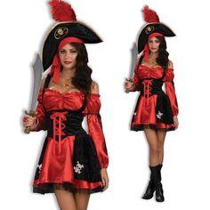Sexy Pirate Dress & Hat