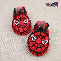 """[Bebê] No entanto, dupla sapatos de lã tecidos à mão vídeo tutorial --- Spiderman - turbo: """"Sapatos bebê (algodão leite)"""" - Jogo Online - Youku, vídeo de alta definição relógio on-line"""