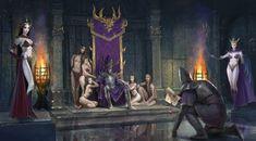 Warhammer Dark Elves, Warhammer Art, Warhammer Fantasy, Total Warhammer, Fantasy Battle, Dark Fantasy Art, Fantasy Artwork, Elf Warrior, Angel Warrior