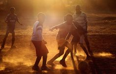 Soccer...a passion for all African children....its played everywhere and anytime :-)